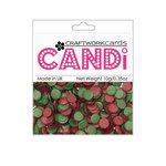 Craftwork Cards - Candi - Shimmer Paper Dots - Vintage Berries
