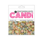Craftwork Cards - Candi - Shimmer Paper Dots - Cotton Candy