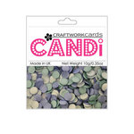 Craftwork Cards - Candi - Shimmer Paper Dots - Ocean Spray