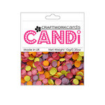 Craftwork Cards - Candi - Shimmer Paper Dots - Hot Tropics