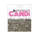 Craftwork Cards - Candi - Metallic Paper Dots - Regal Silver