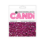 Craftwork Cards - Candi - Metallic Paper Dots - Regal Garnet