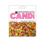 Craftwork Cards - Candi - Shimmer Paper Dots - Flower Toy Box