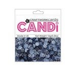 Craftwork Cards - Candi - Shimmer Paper Dots - Flower Twilight