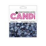 Craftwork Cards - Candi - Shimmer Paper Dots - Flower Twilight