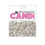 Craftwork Cards - Candi - Shimmer Paper Dots - Dotty Gold Wedding