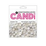 Craftwork Cards - Candi - Shimmer Paper Dots - Dotty Silver Wedding