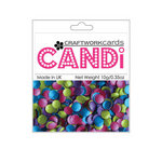 Craftwork Cards - Candi - Shimmer Paper Dots - Mardi Gras
