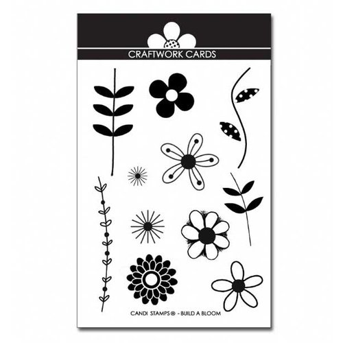 Craftwork Cards - Acrylic Stamps - Build a Bloom