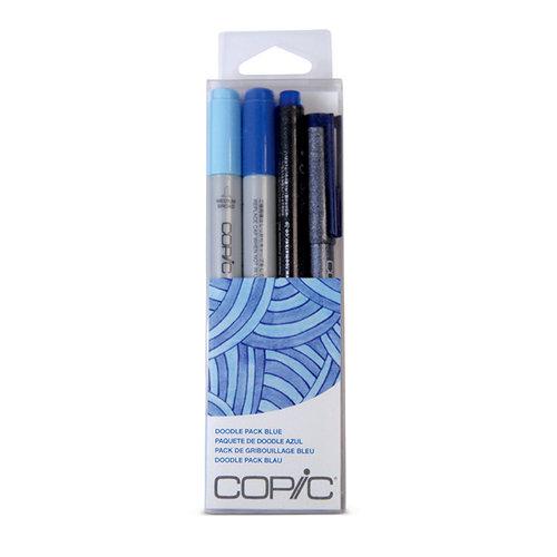 Copic - Marker Sets - Doodle Pack - Blue