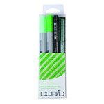 Copic - Marker Sets - Doodle Pack - Green