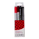 Copic - Marker Sets - Doodle Pack - Red