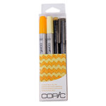Copic - Marker Sets - Doodle Pack - Yellow