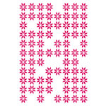 Couture Creations - Mikashet Collection - 5 x 7 Embossing Folder - Random Daisies