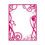 Couture Creations - Mikashet Collection - A2 Embossing Folder - Grunge Frame