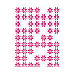 Couture Creations - Mikashet Collection - A2 Embossing Folder - Random Daisies