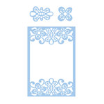 Couture Creations - Elegant Card Cuts Collection - Intricutz Dies - Barossa Frame