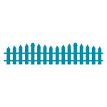 Couture Creations - Kalini Collection - Intricutz Dies - Picket Fence