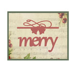 Couture Creations - Christmas Eve Collection - Designer Dies - Be Merry