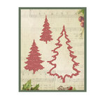 Couture Creations - Christmas Eve Collection - Designer Dies - Evergreen Trees