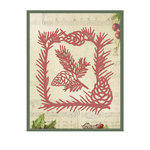 Couture Creations Christmas Eve Conifer Frame Designer Dies