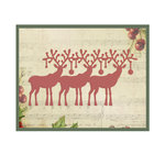 Couture Creations - Christmas Eve Collection - Designer Dies - Santa's Reindeer