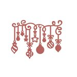 Couture Creations - Christmas Eve Collection - Designer Dies - Hanging Ornaments