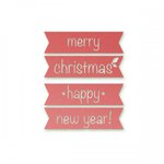 Couture Creations - Silent Night Collection - Christmas - Designer Dies - Good Tidings