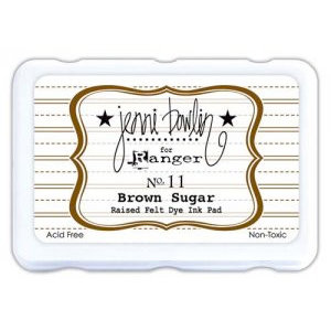 Ranger Ink - Jenni Bowlin - Ink Pad - Brown Sugar