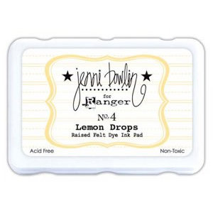Ranger Ink - Jenni Bowlin - Ink Pad - Lemon Drops