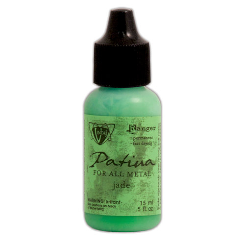 Ranger Ink - Vintaj - Patinas - Opaque Ink - Jade - .5 ounces