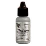 Ranger Ink - Vintaj - Patinas - Metallic Opaque Ink - Nouveau Silver - .5 ounces