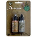 Ranger Ink - Vintaj - Patinas Kit - Opaque Metallic Inks - Treasured Heirloom Collection
