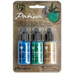 Ranger Ink - Vintaj - Patinas Kit - Opaque Inks - Faded Pickup