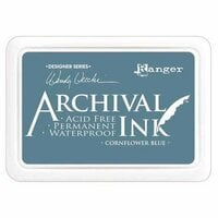 Ranger Ink - Wendy Vecchi - Archival Ink Pads - Cornflower Blue