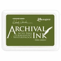 Ranger Ink - Wendy Vecchi - Archival Ink Pads - Fern Green