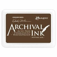 Ranger Ink - Wendy Vecchi - Archival Ink Pads - Potting Soil