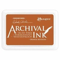 Ranger Ink - Wendy Vecchi - Archival Ink Pads - Orange Blossom