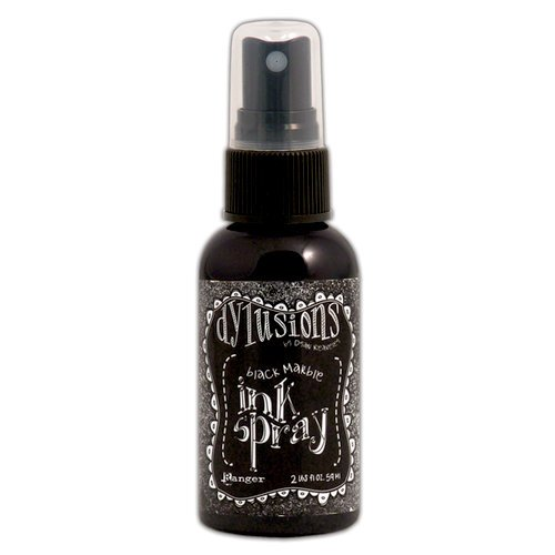 Ranger Ink - Inkssentials - Dylusions Ink Spray - Black Marble