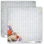 Donna Salazar - Grandma's Garden Collection - 12 x 12 Double Sided Paper - Rainy Day Bouquet, CLEARANCE