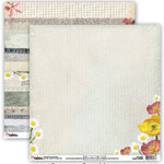 Donna Salazar - Grandma's Garden Collection - 12 x 12 Double Sided Paper - Summer Sunshine, CLEARANCE