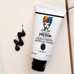 Ranger Ink - Dina Wakley Media - Heavy Body Acrylic Paint - Umber