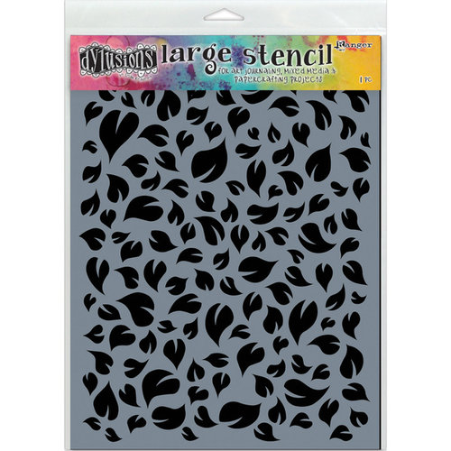 Ranger Ink - Dylusions Stencils - Leaves - Large