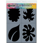Ranger Ink - Dylusions Stencils - Nature - Large