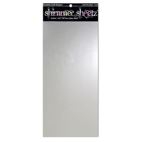 Elizabeth Craft Designs - Shimmer Sheets - Silver Metallic