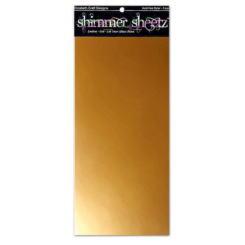 Elizabeth Craft Designs - Shimmer Sheets - Gold Metallic