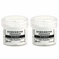 Ranger Ink - Embossing Powder - Sticky - 2 Pack