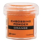 Ranger Ink - Opaque Shiny Embossing Powder - Orange