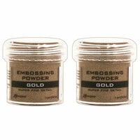 Ranger Ink - Basics Embossing Powder - Super Fine - Gold - 2 Pack