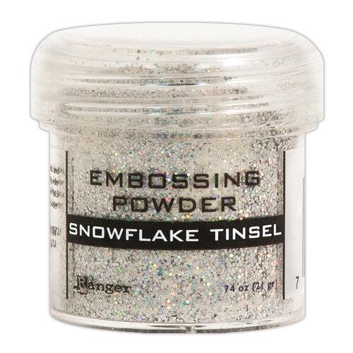 Ranger Ink - Specialty 1 Embossing Powder - Snowflake Tinsel